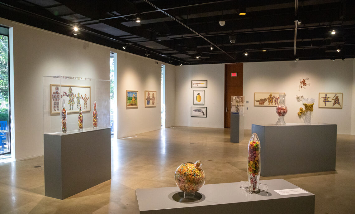 Dana Gallery, Fall 2021, Deb Grove, F&M photographer.