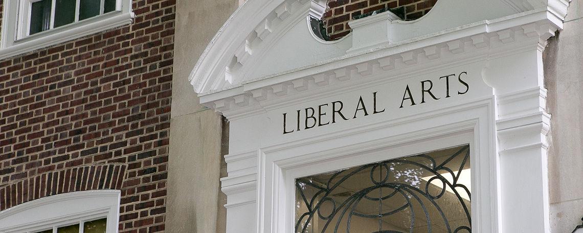 Liberal Arts above door