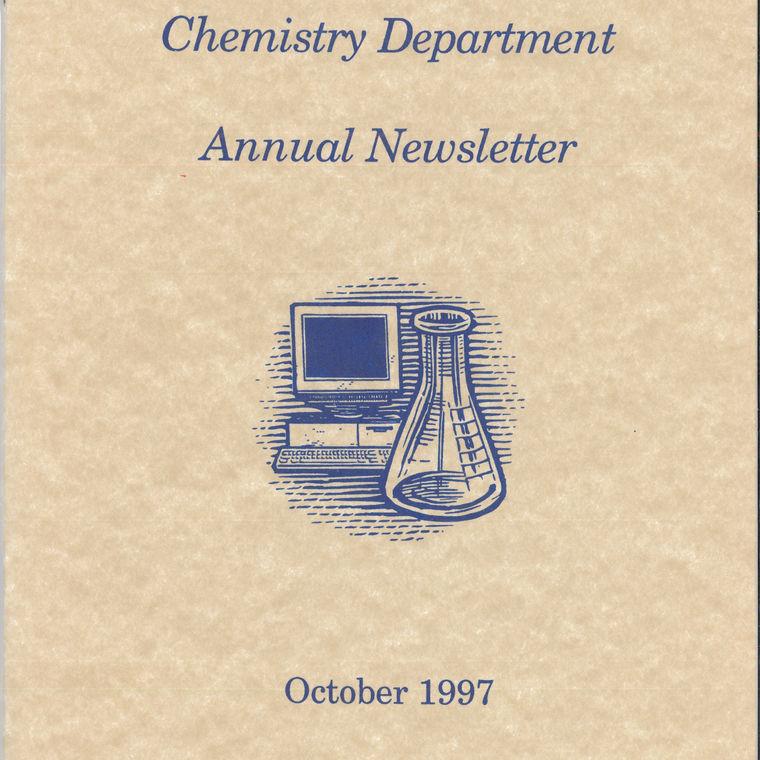 1997 Chemistry Newsletter Cover