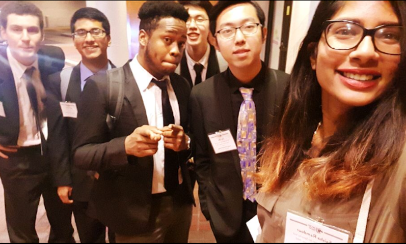 Franklin and Marshall Model United Nations Members at NCSC 2018.