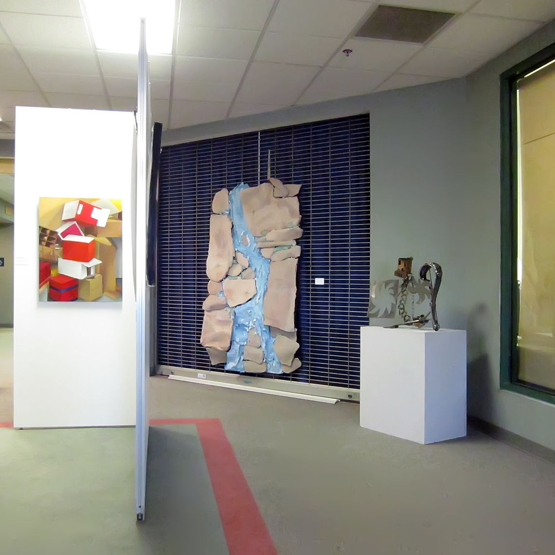 Artwork in the exhibition