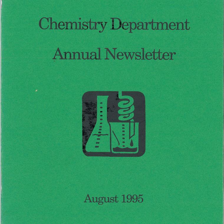 1995 Chemistry Newsletter Cover