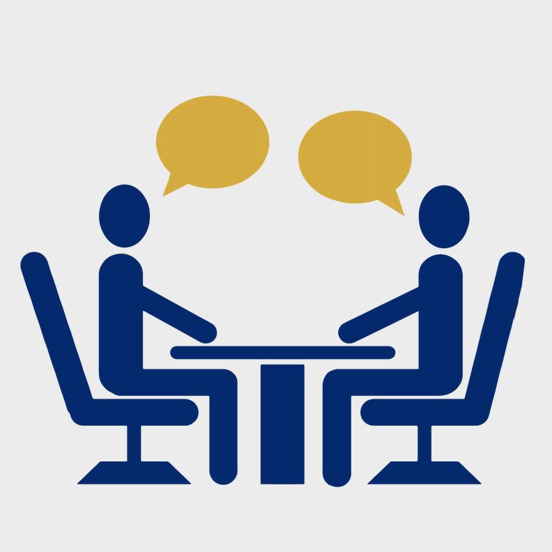 job fair table