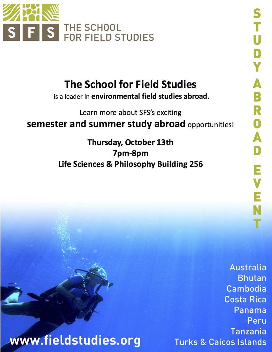 Study Abroad | Office of Undergraduate Biology