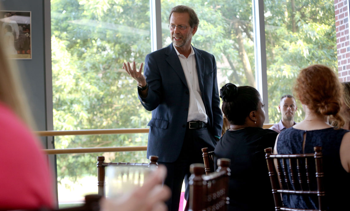 Ensuring college access for talented low- and moderate income students has been a hallmark of President Porterfield's tenure at F&M.