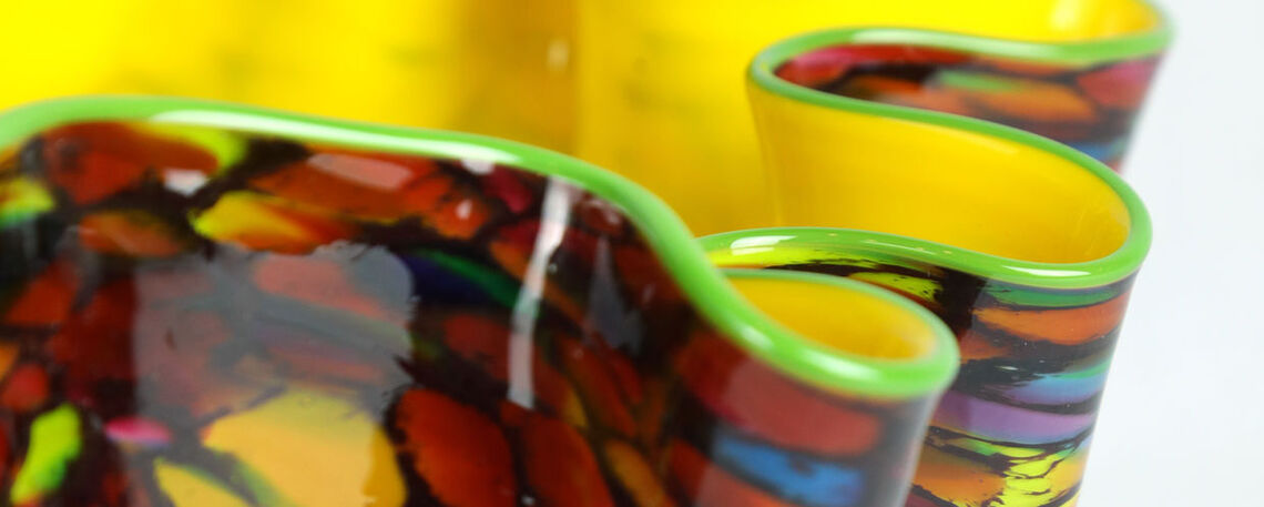 "Dale Chihuly (American, b. 1941), ""Carnival Macchia, Portland Press Studio Edition"", 2004, glass, Bequest of the Estate of James Himmelberger"
