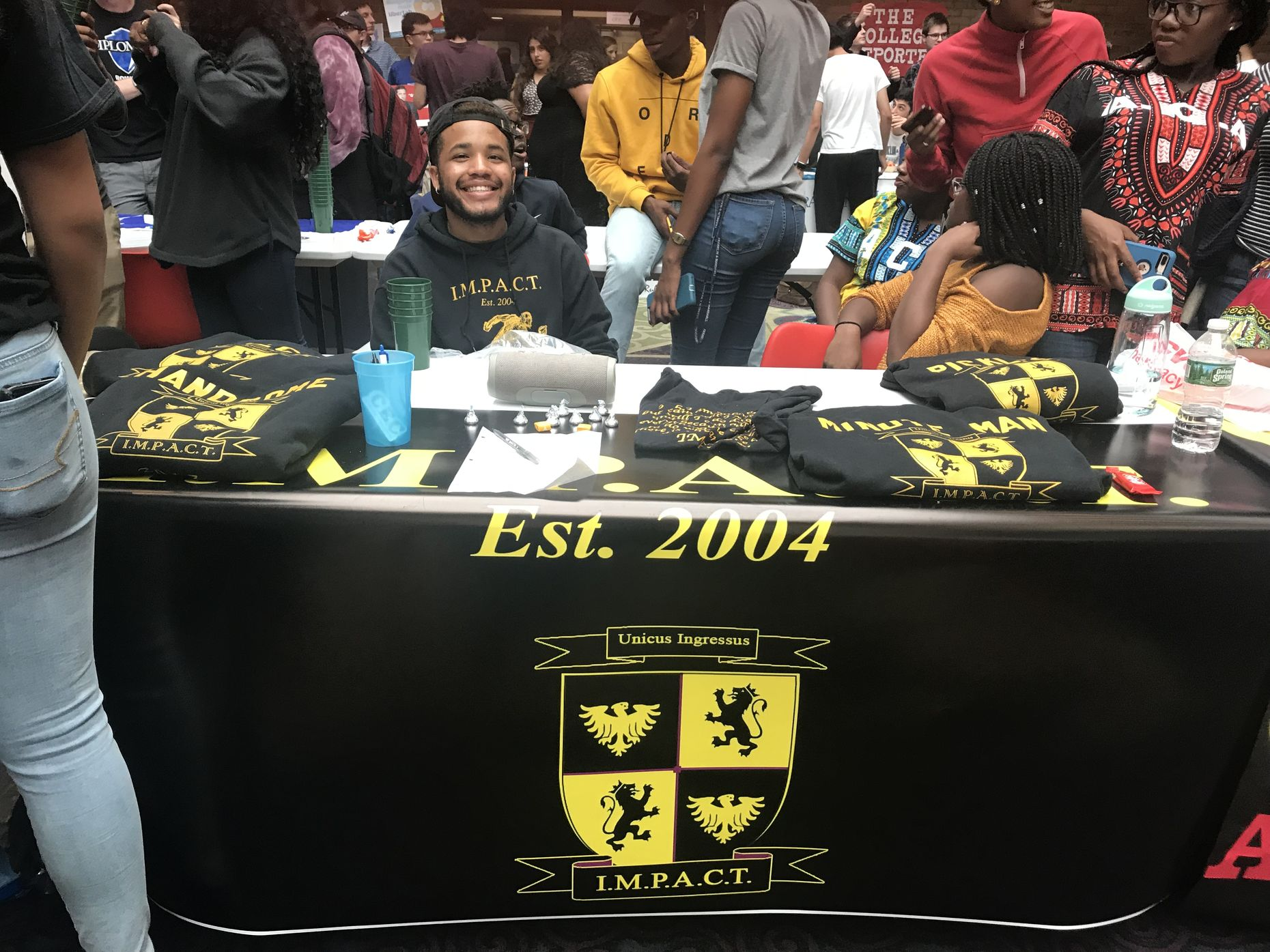 Table from the 2018 fall club fair