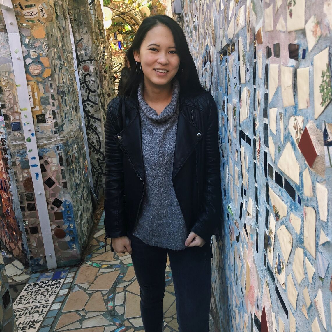 """""""I have a really good relationship with my supervisor because I interned there so I really just lucked out,"""" says Harmony Zhao '20 on her job in the New York City Council."""