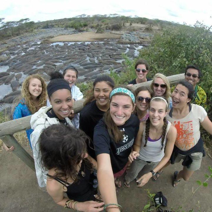 15-16 OCS Ambassador Katie Foreman. SFS Tanzania Spring 2015
