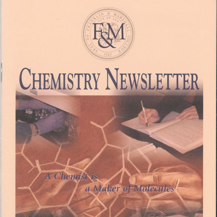 2004 Chemistry Newsletter Cover