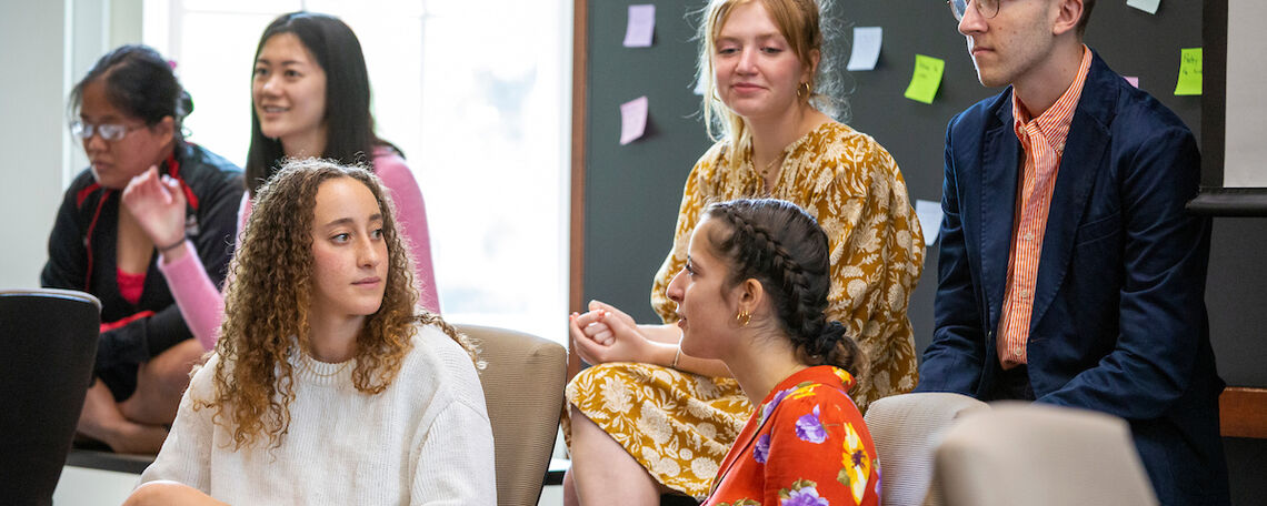 Food for Thought: A mentorship program designed around food and sustainability connects  students at neighboring McCaskey High School to F&M, providing an opportunity to learn about how food impacts social and environmental sustainability.