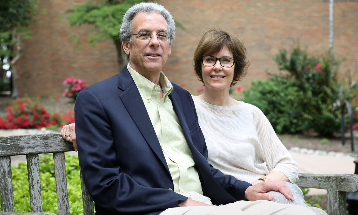 Tony Kreisel '66 and his wife, Dr. Kimberly Faris.
