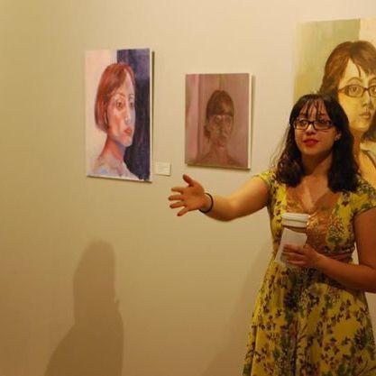 Artist gallery talk