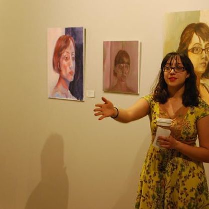 Salina's Solo Exhibition