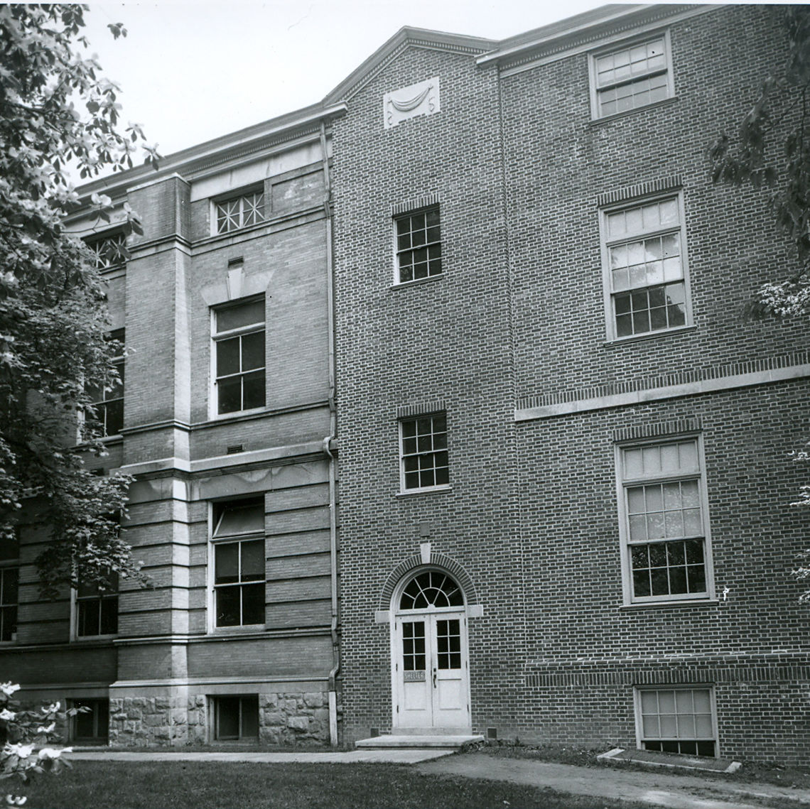 South side of Stahr Hall