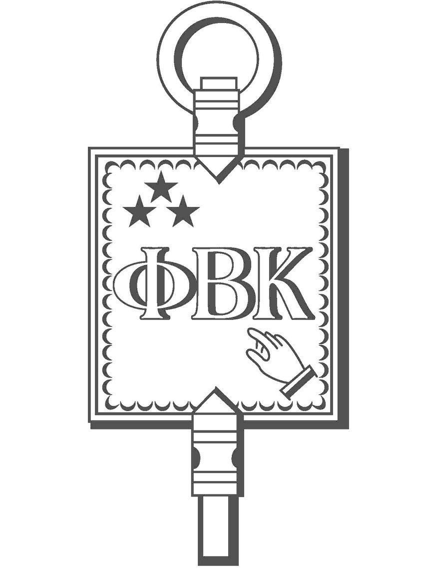 Phi Beta Kappa Honor Society Key