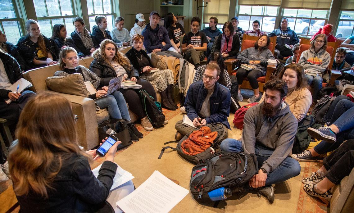 Caitlin Horrocks' Craft Talk at the Philadelphia Alumni Writers House