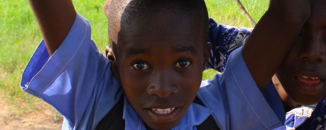 13 Ghana Heritage Academy children