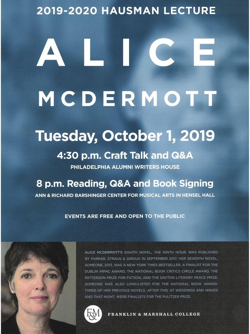 featuring Alice McDermott