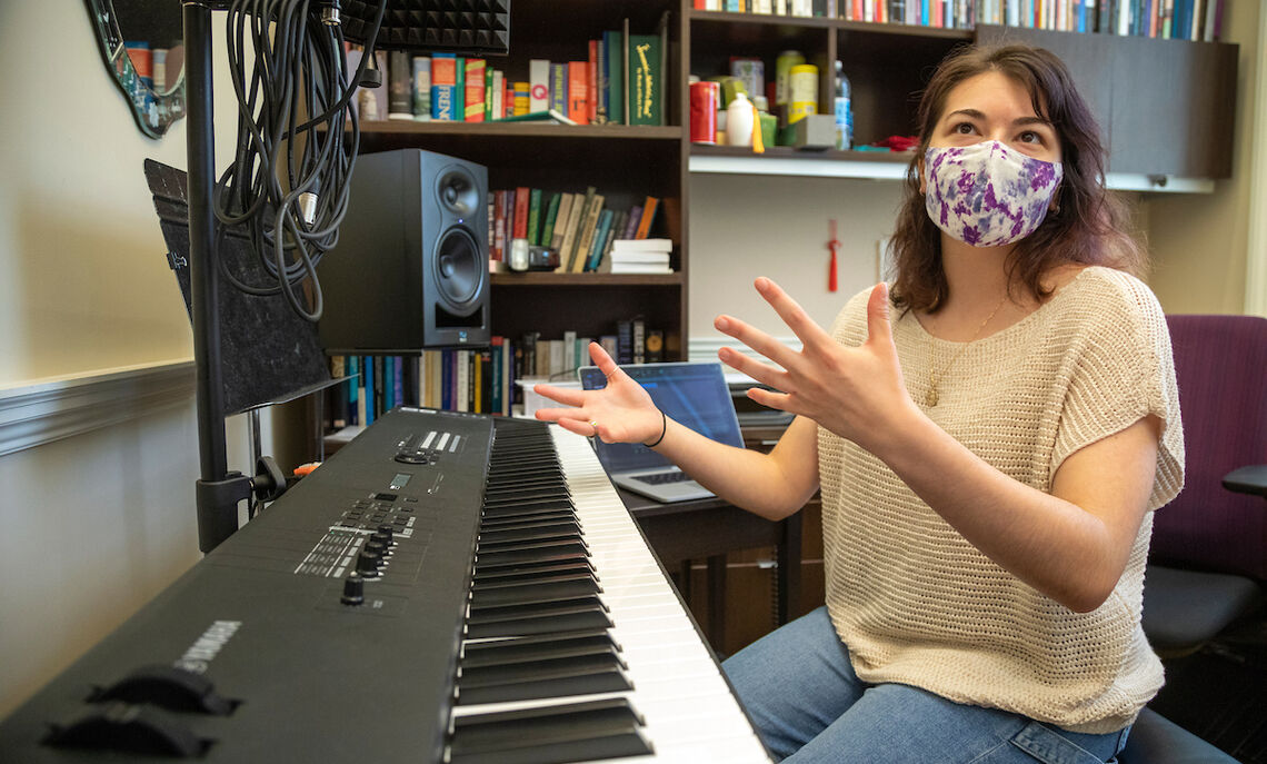 """""""It really changed how I listen to music as a whole,"""" Peterson says of her research. """"It changes your understanding and appreciation of how much work actually goes into producing songs."""""""