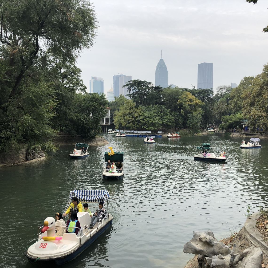 Zhongshan Park, a common name for Chinese parks in honor of Sun Zhongshan.
