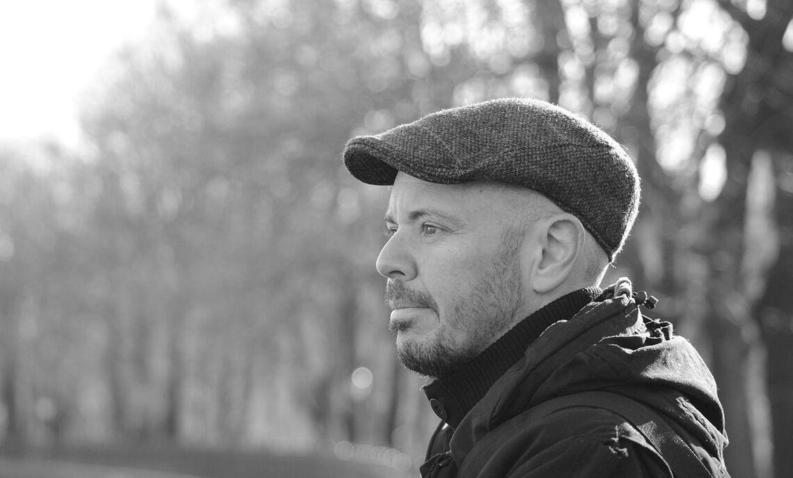 Italian novelist Fabio Geda.