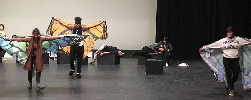 """Policarpa"" rehearsal"