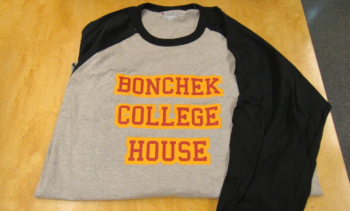 A 3/4 Sleeve Bonchek shirts. Only 1 left in XL.