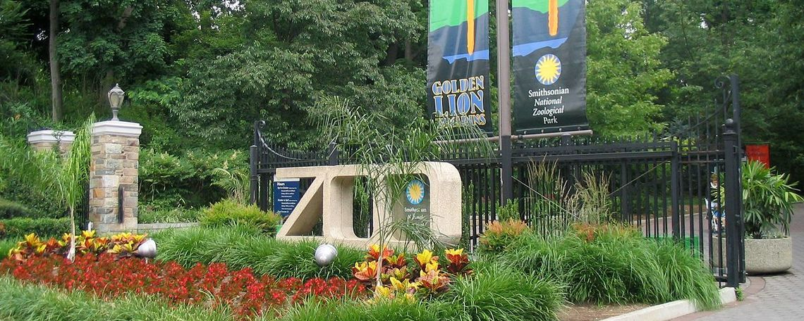 Entrance to the Washington, D.C. Zoo.