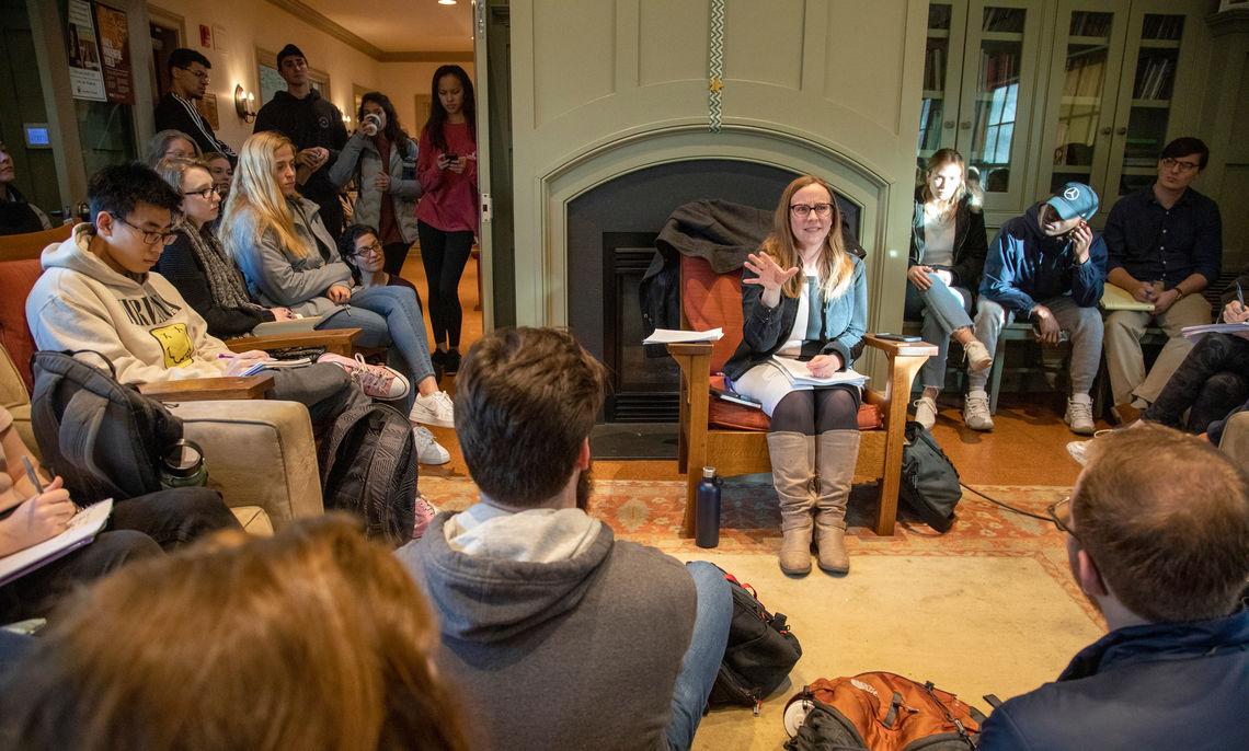 Caitlin Horrocks Craft Talk at the Philadelphia Alumni Writers House