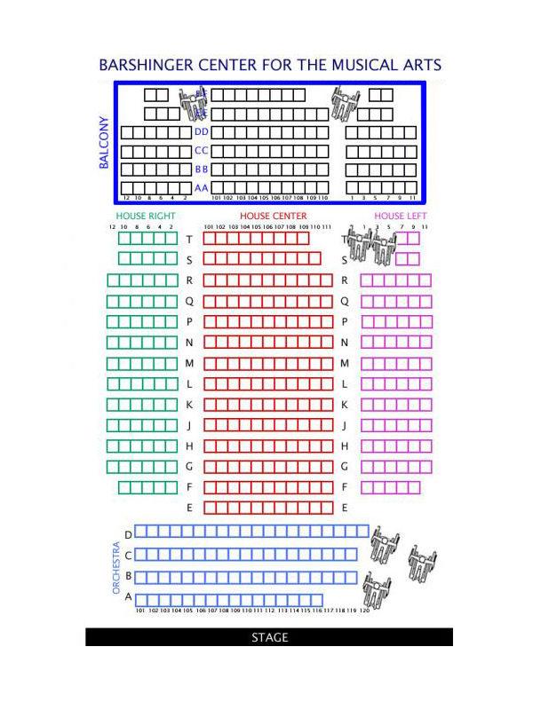 Franklin Marshall Seating Charts