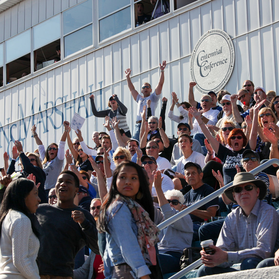 The F&M community has a plenty to cheer about Saturday, as the Diplomats take Moravian College to task, 42-12.