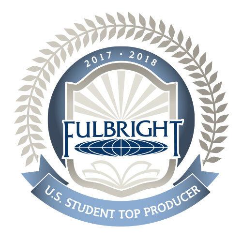 Fulbright Top Producer Emblem