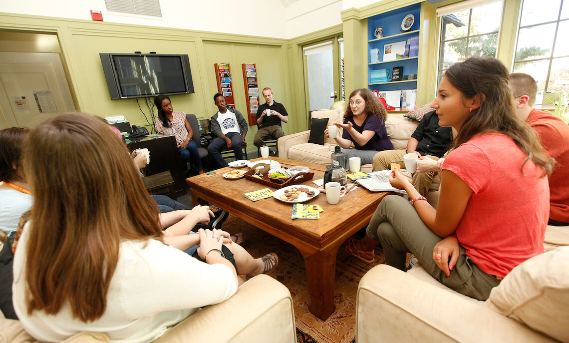 French Coffee Hour at the Joseph International Center