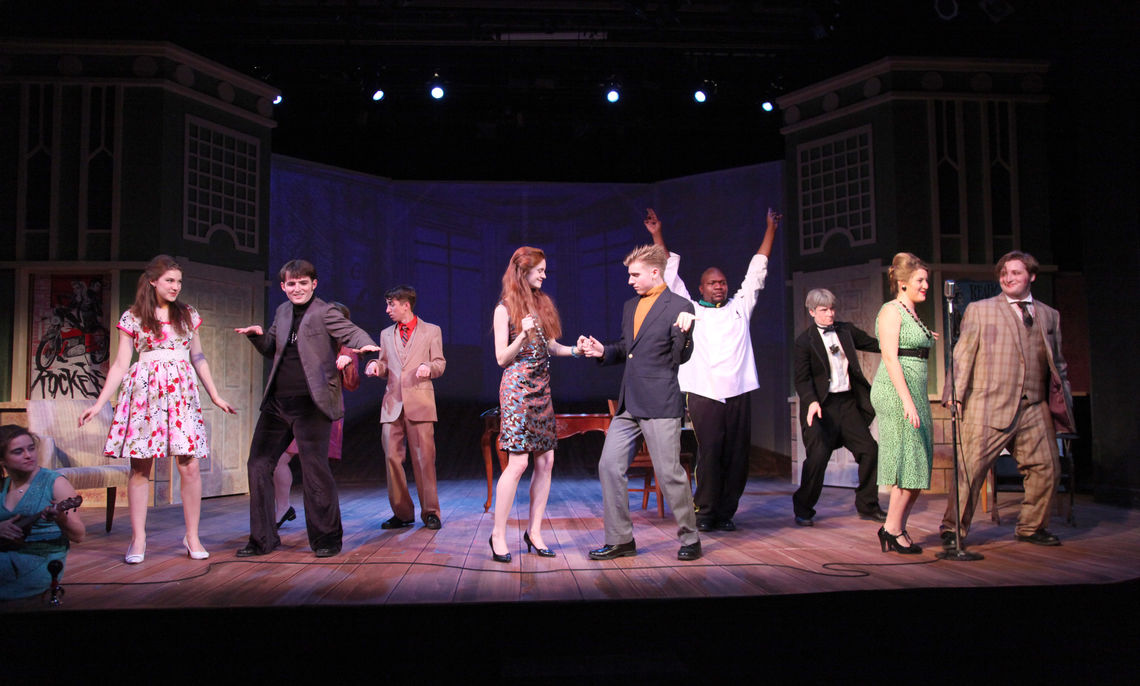 """The Green Room Theatre production of """"One Man, Two Guvnors"""" ..."""