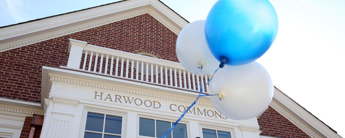 Harwood Commons, which opened last year as the new home of OSPGD and the Ware Institute for Civic Engagement, is a central hub on campus that propels students into opportunity.