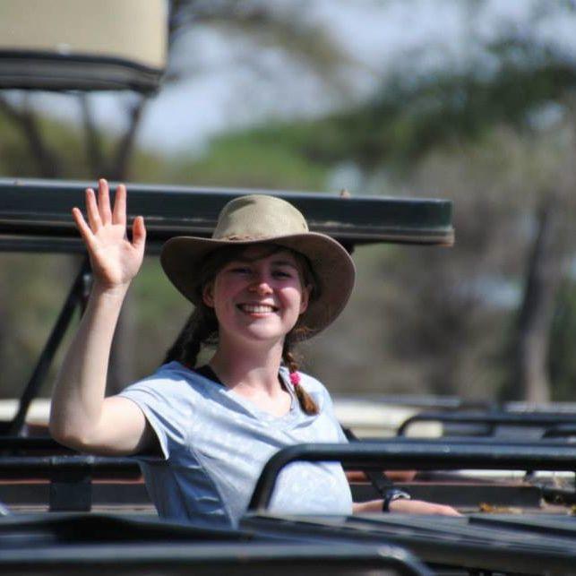 OCS Ambassador Phoebe Walsh. SFS Kenya Fall 2014.