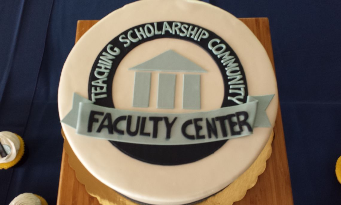 Faculty Center First Anniversary Celebration Cake