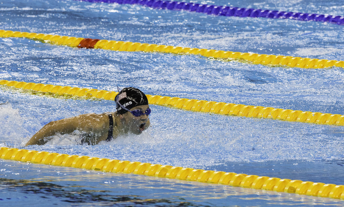 Meyers completed her second-career Paralympics Games in Rio de Janeiro in September 2016, winning a total of four medals—three gold and one silver—and setting two world records in the 100-meter butterfly and the 400-meter freestyle.