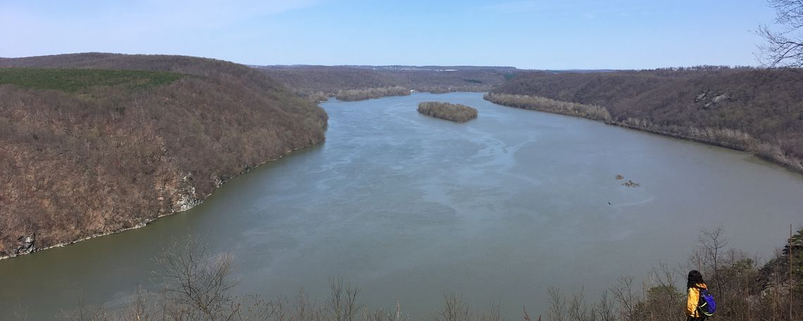 Shot of the Susquehanna River from Pinnacle Overlook.