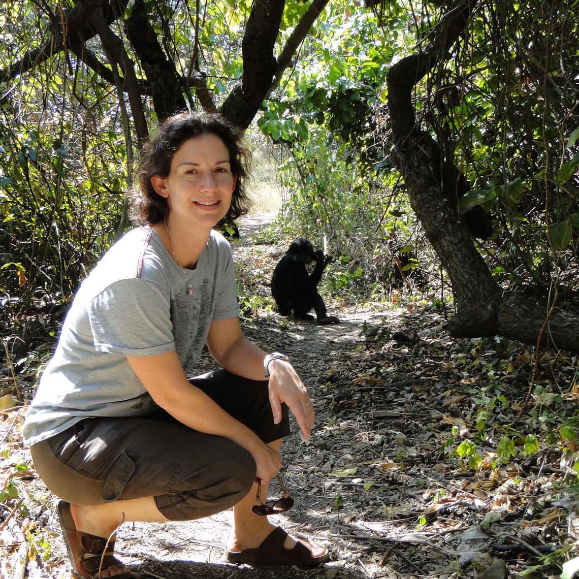 "F&M Professor Lonsdorf is one of the lead authors of ""Chimpanzee Fathers Bias Their Behavior Toward Their Offspring,"" which based the research on long-term behavioral data from Gombe Stream National Park in Tanzania, where the data collection is supported by the Jane Goodall Institute."