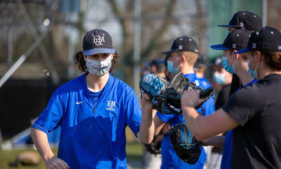 Spring 2021 baseball practice