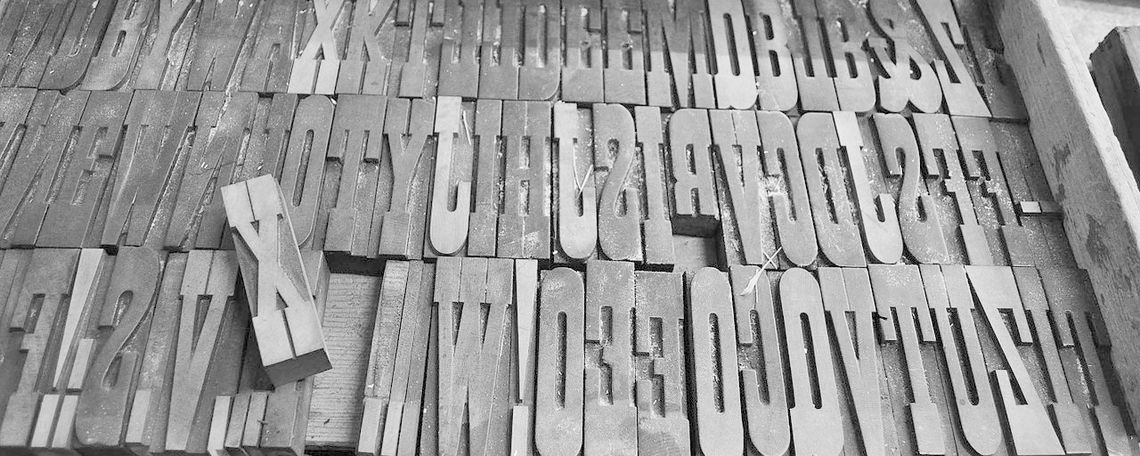 french clarendon wood typebw