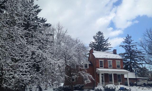 Buchanan House in Winter (2020)