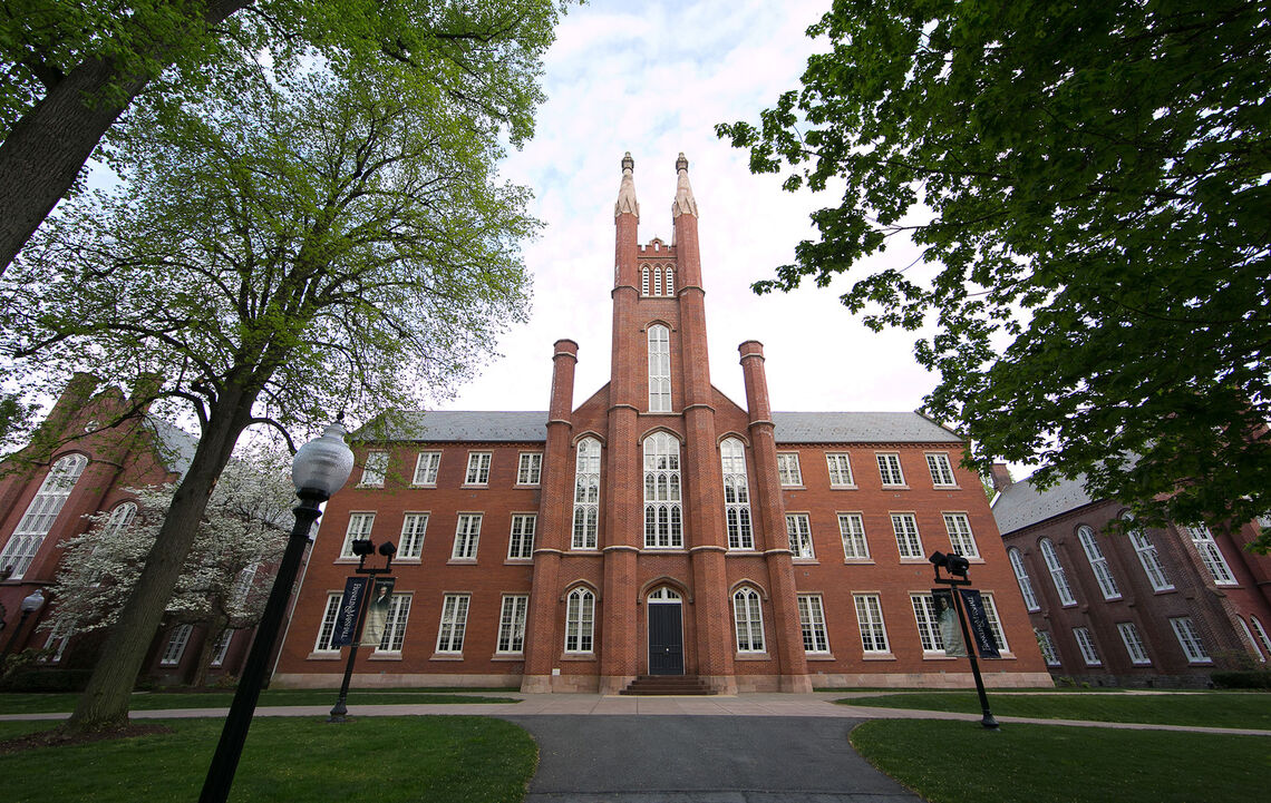 Front of Old Main