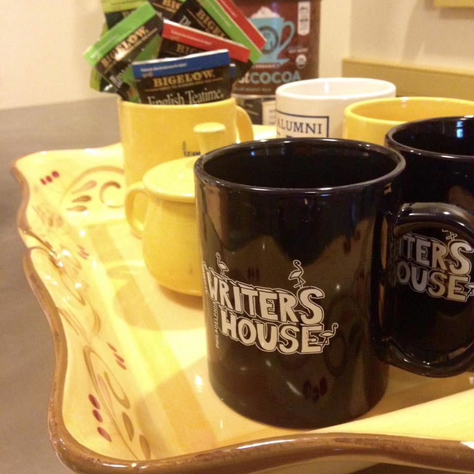There's always tea and hot chocolate at Writers House! 2/3/16
