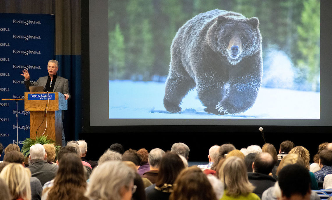 "Quammen, three-time recipient of the National Magazine Award, discussed ""Protected Lands: The Paradox of the Cultivated Wild"" at the Jan. 30 Common Hour,"