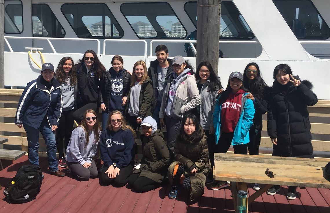 CNX 240 The Whale - whale watching trip off Cape May, Spring 2018