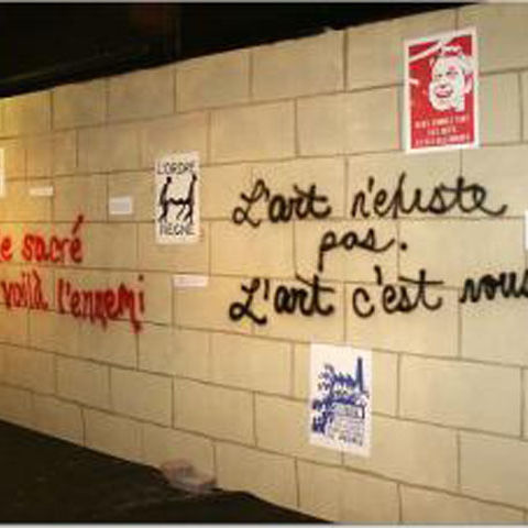 politcal posters in paris 2