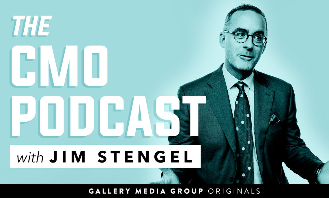 Jim Stengel, former CMO of the largest marketer in the world (Procter & Gamble), and now small company entrepreneur sits down for intimate conversations with the most dynamic CMOs from all over the industry.